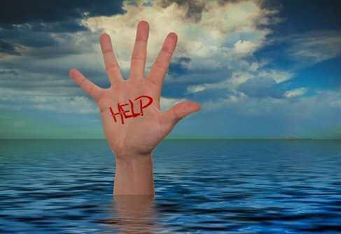 утопающий, безопасность на воде